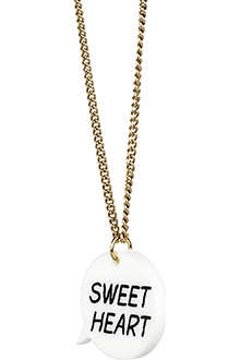 TATTY DEVINE Sweetheart necklace