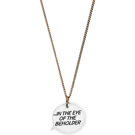 TATTY DEVINE Eye of the Beholder necklace (Multi
