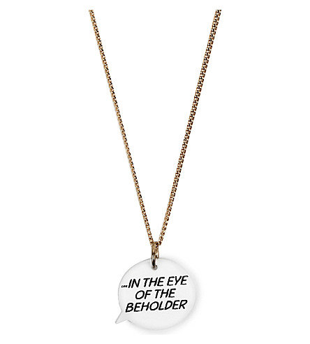 TATTY DEVINE Eye of the Beholder necklace (Multi