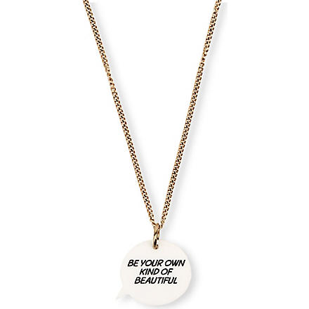 TATTY DEVINE Own Kind of Beautiful necklace (Multi