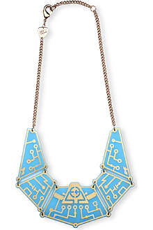 TATTY DEVINE Future circuit necklace