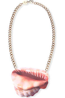 TATTY DEVINE Shell grotto conch necklace