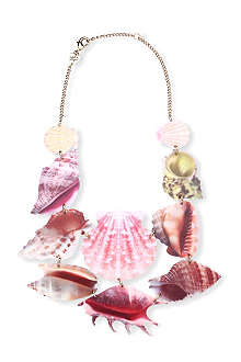 TATTY DEVINE Shell grotto statement necklace