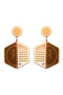 TATTY DEVINE Space ship earrings