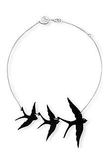 TATTY DEVINE Swallow triple necklace