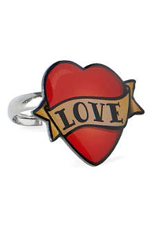 TATTY DEVINE Enamel love ring