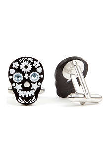 TATTY DEVINE Sugar skull cufflinks