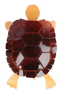 TATTY DEVINE Tortoise brooch
