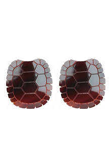 TATTY DEVINE Tortoise shell earrings
