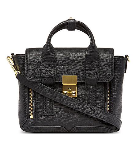 3.1 PHILLIP LIM Pashli mini satchel (Black