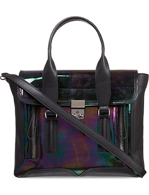 3.1 PHILLIP LIM Pashli medium oil-slick satchel