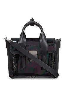 3.1 PHILLIP LIM Pashli mini oil-slick satchel
