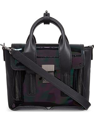 3.1 PHILLIP LIM Pashli mini oil-slick satchel