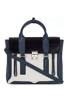 3.1 PHILLIP LIM Pashli tri colour satchel