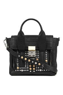 3.1 PHILLIP LIM Pashli mini studded leather satchel