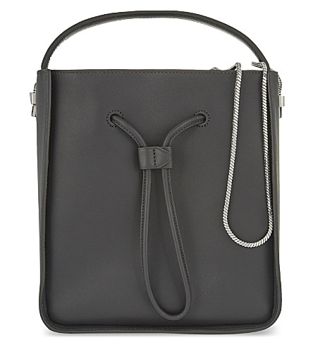 3.1 PHILLIP LIM Soleil small bucket bag (Charcoal