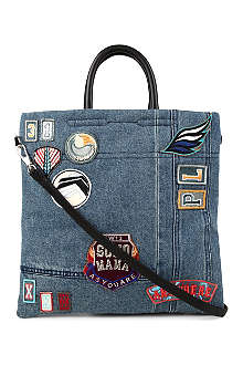 3.1 PHILLIP LIM Appliquéd denim bag