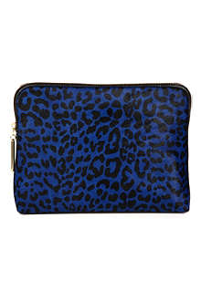 3.1 PHILLIP LIM 31 Minute leather and calf hair clutch