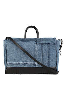 3.1 PHILLIP LIM Ryder denim patch tote