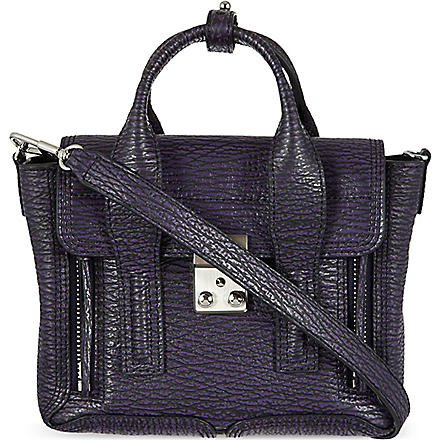 3.1 PHILLIP LIM Pashli mini satchel (African violet/nickel