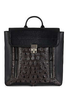 3.1 PHILLIP LIM Pashli Turtle Embossed backpack