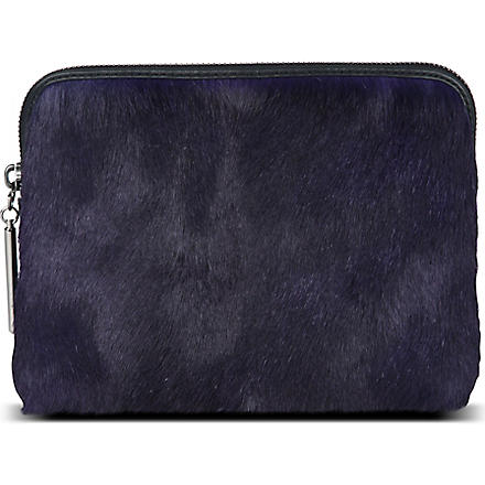 3.1 PHILLIP LIM 31 Second pouch (Ultra violet/gunmetal