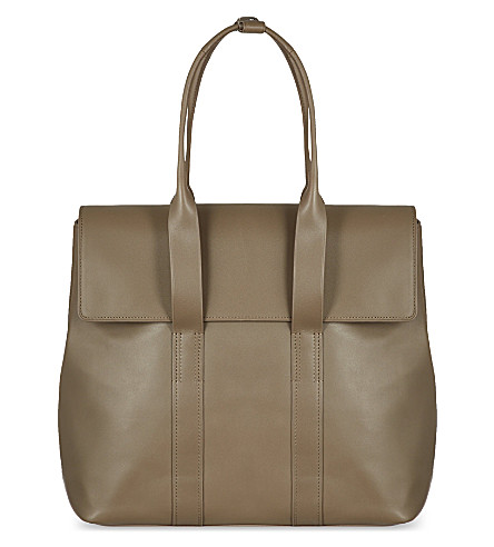 3.1 PHILLIP LIM 31 hour tote (Clay/gunmetal