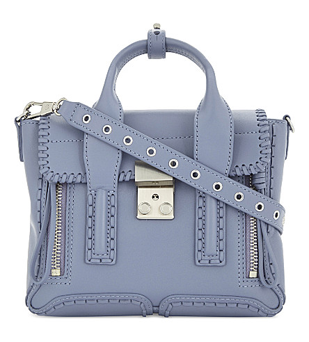 3.1 PHILLIP LIM Pashli mini leather shoulder bag (Periwinkle