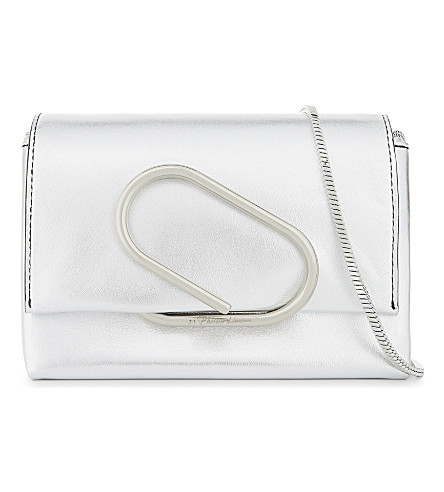3.1 PHILLIP LIM Alix leather cross-body bag (Silver