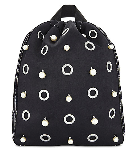 3.1 PHILLIP LIM Go-Go medium backpack (Phantom+blue