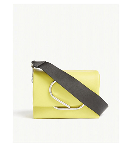3.1 PHILLIP LIM Alix micro leather cross-body bag (Chartreuse
