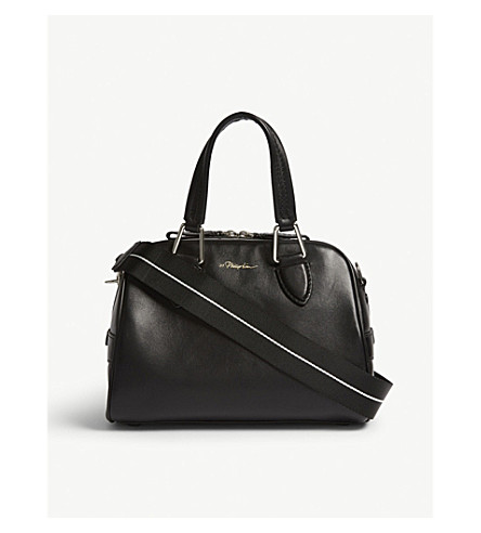 3.1 PHILLIP LIM Ray small leather flight bag (Black