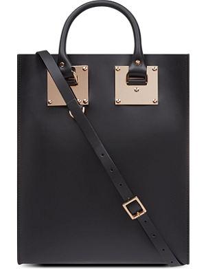 SOPHIE HULME Leather mini tote bag