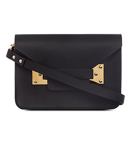 SOPHIE HULME Mini envelope cross-body bag (Black