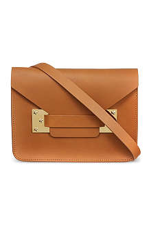 SOPHIE HULME Mini envelope saddle bag