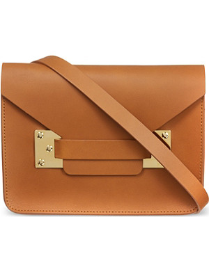 SOPHIE HULME Mini envelope saddle bag