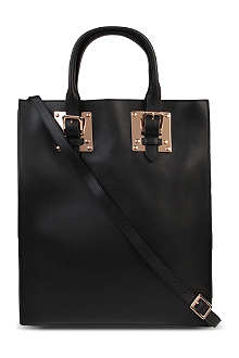 SOPHIE HULME Double plate soft-leather tote