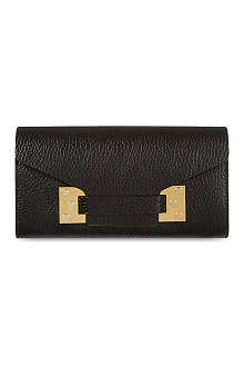 SOPHIE HULME Leather envelope wallet