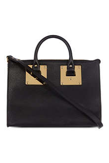 SOPHIE HULME Mini bowling bag