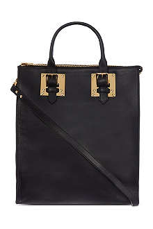 SOPHIE HULME Zip top buckled tote