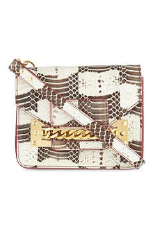 SOPHIE HULME Snake mini envelope clutch