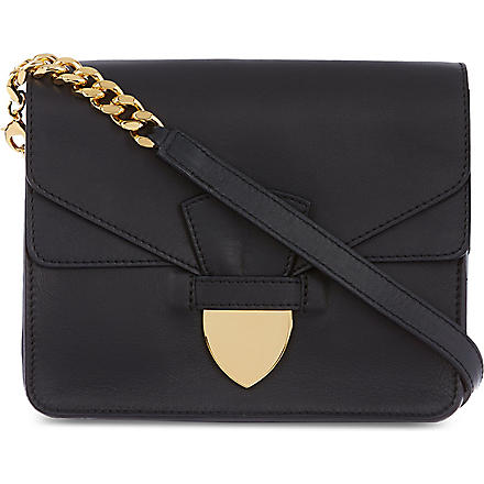SOPHIE HULME Mini spear tab bag (Navy