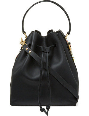 SOPHIE HULME Large drawstring bucket bag