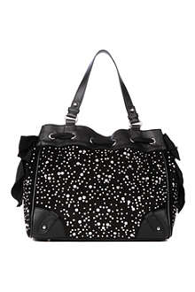 JUICY COUTURE Daydreamer studded shoulder bag