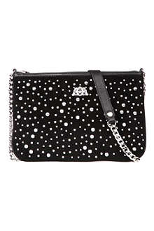 JUICY COUTURE Louisa studded shoulder bag
