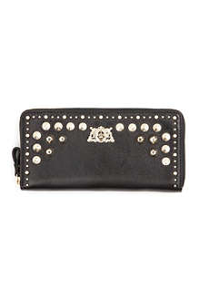 JUICY COUTURE Tough girl zip wallet