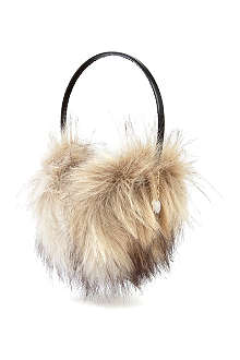 JUICY COUTURE Fur earmuff headphone