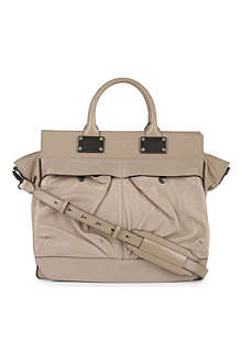RAG & BONE Pilot large leather satchel
