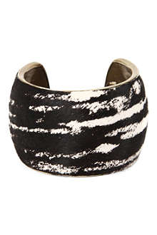 ISABEL MARANT Calf hair cuff