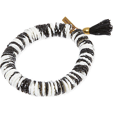 ISABEL MARANT Tiedye stretch bracelet (Black